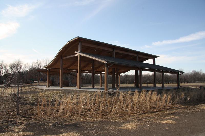 Park Shelter Designs : Meadowmere park strata architecture preservation