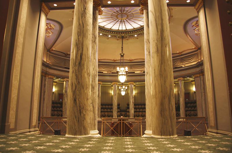 Missouri State Capitol Building Senate Chamber Mezzanine